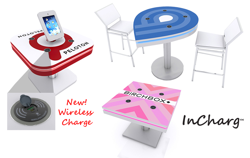 Charging Stations for Trade Shows and Events