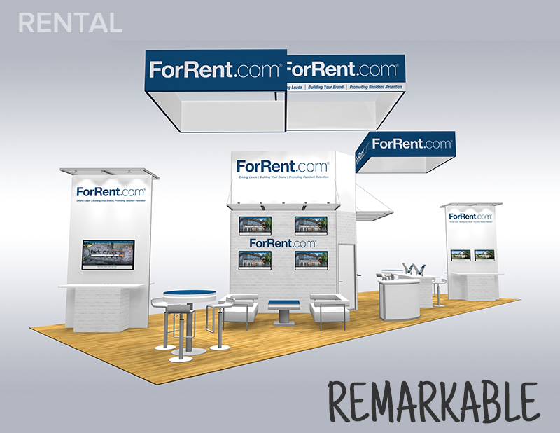 Trade Show Rental Display Designs