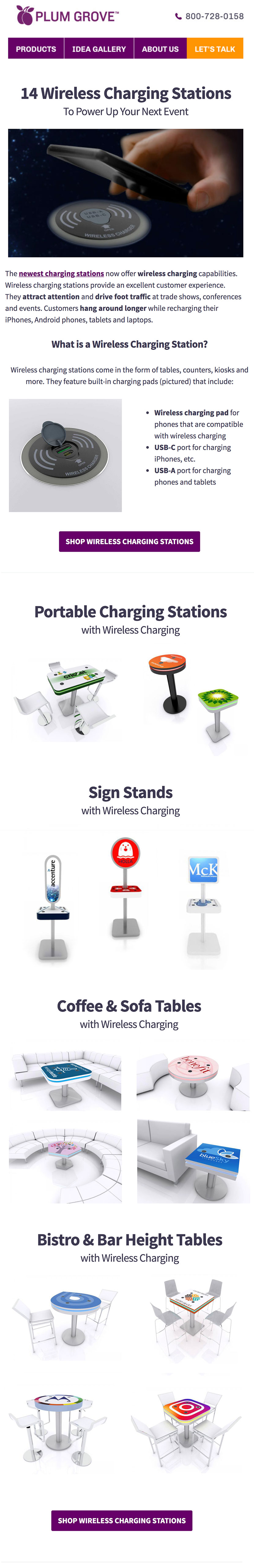 14 Wireless Charging Stations
