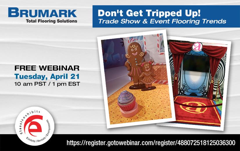 Brumark Webinar -- Don't Get Tripped Up! Flooring trends
