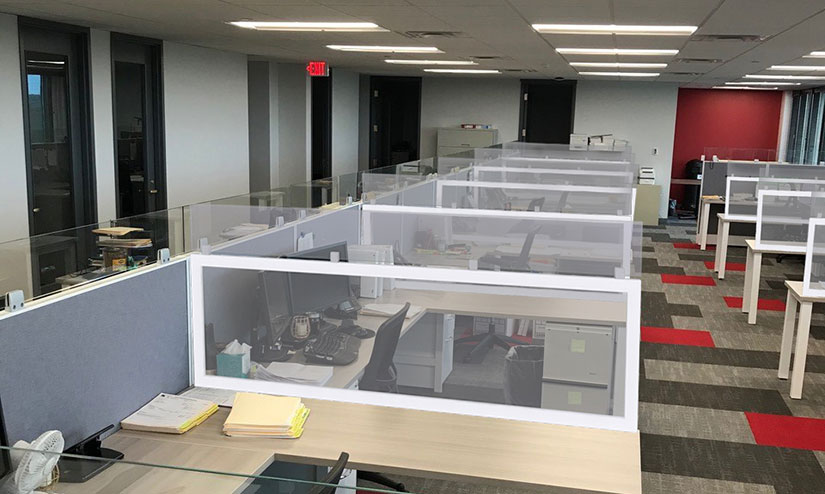Post-COVID Office Dividers