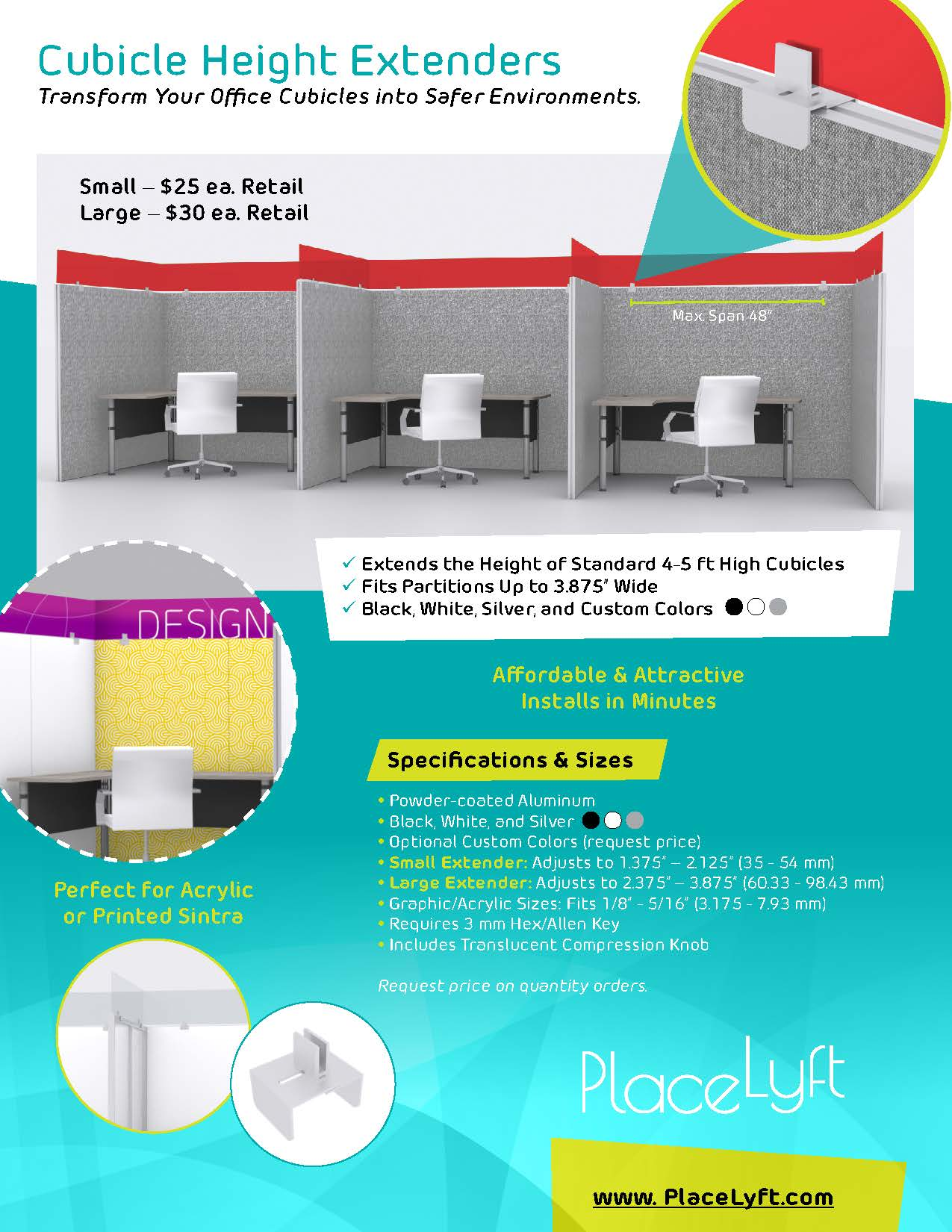 Cubicle Height Extenders