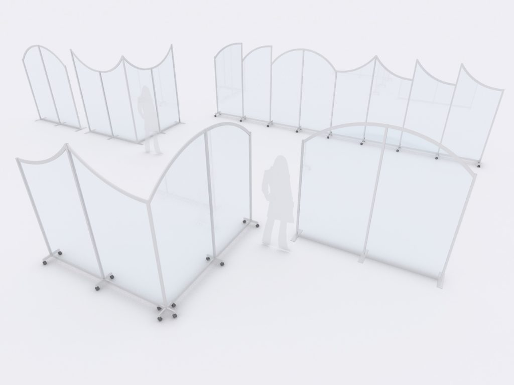 Protective Safety Dividers and Barriers