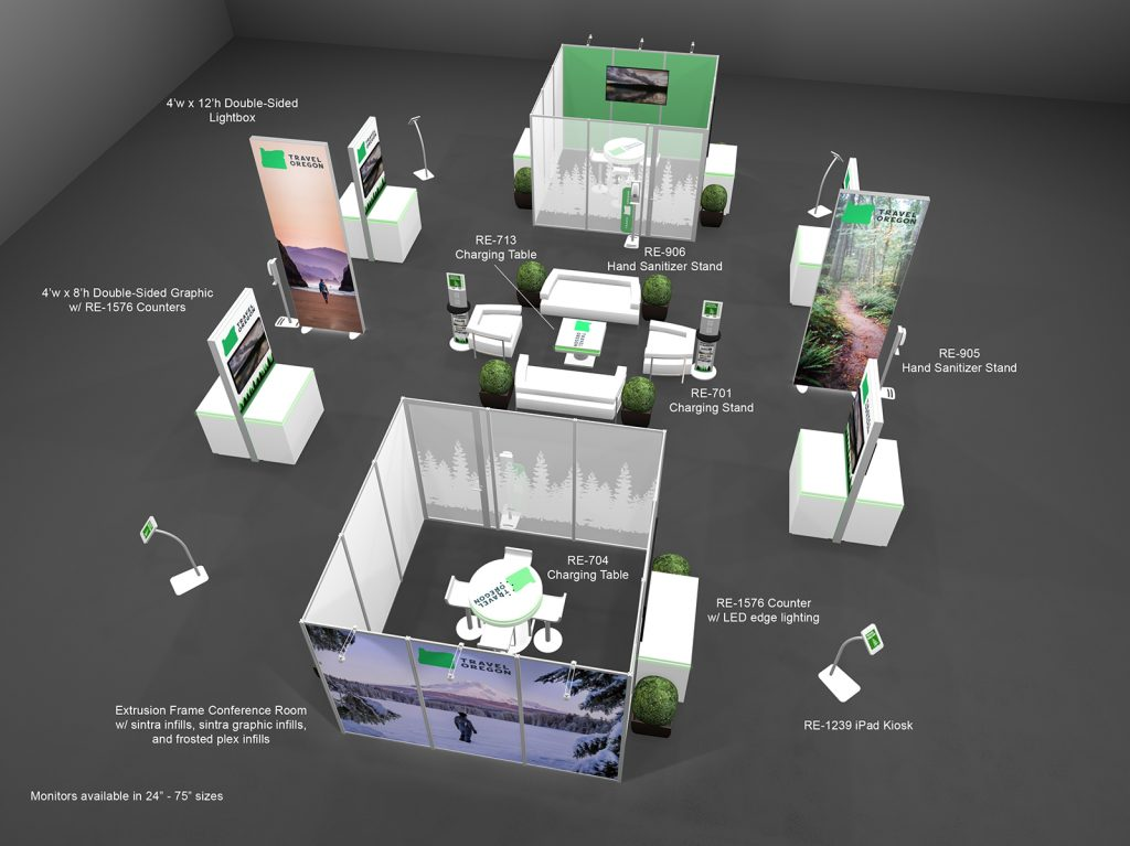Rental Workstations for Meetings and Events