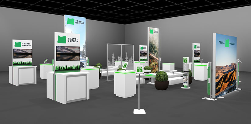 Island Exhibit Designed for COVID-19 Safety Protocols