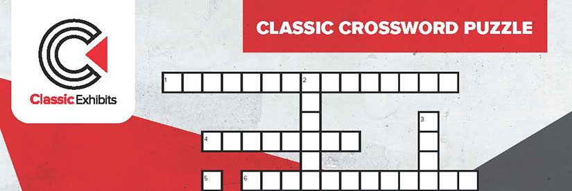 Classic Exhibits Crossword Puzzle
