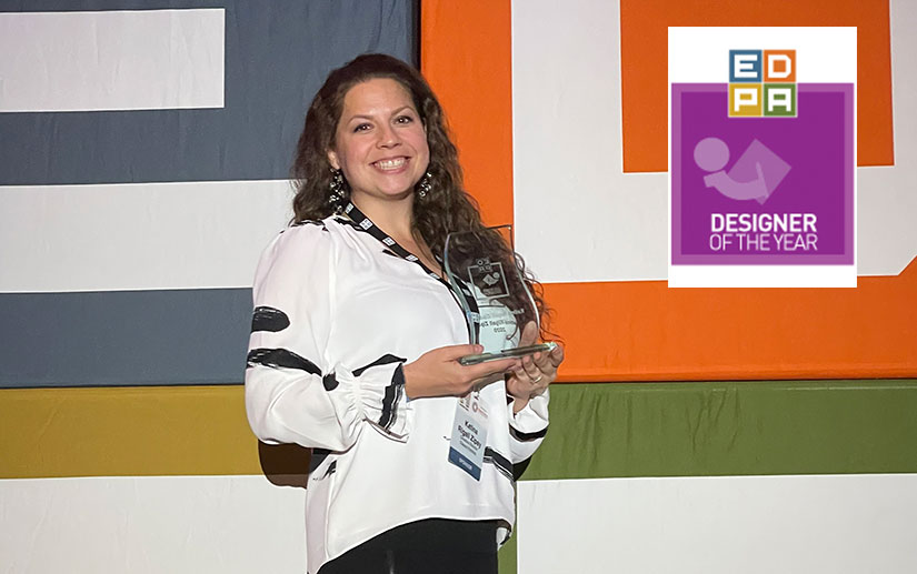 EDPA Designer of the Year Award, Katina Rigall Zipay