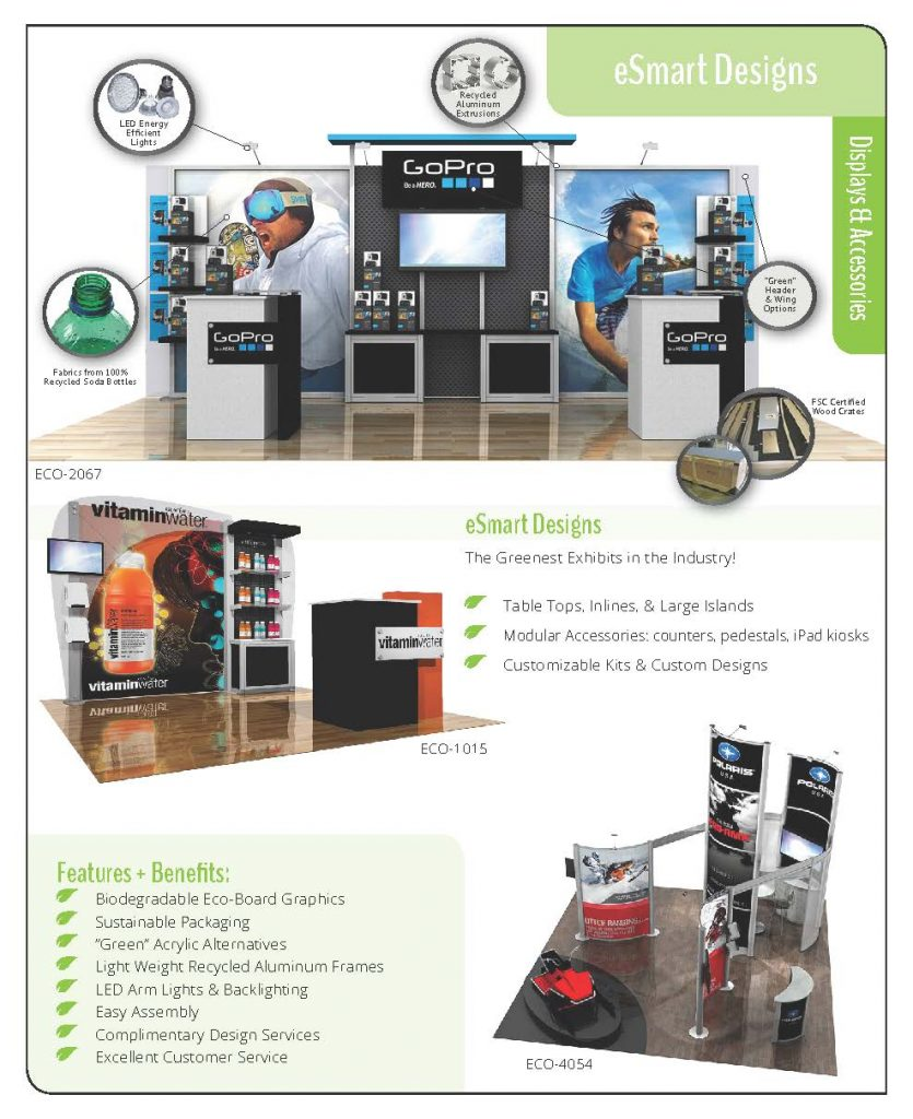 eSmart Sustainable Trade Show Displays