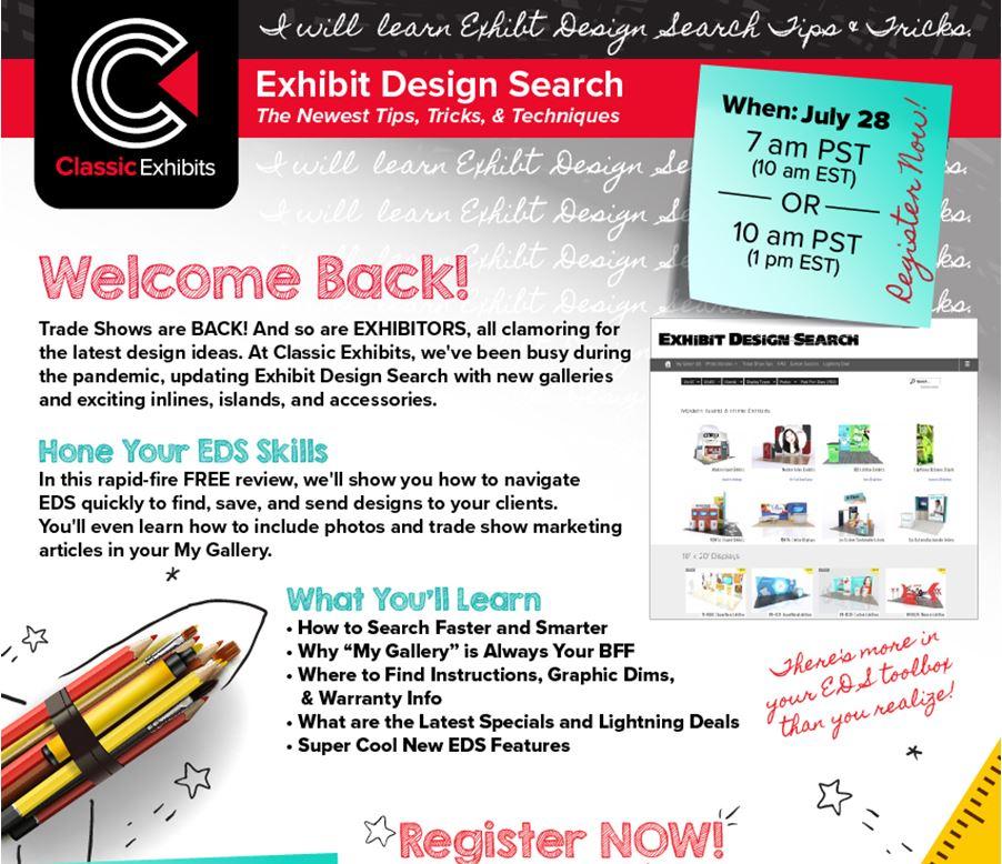 Exhibit Design Search Webinar