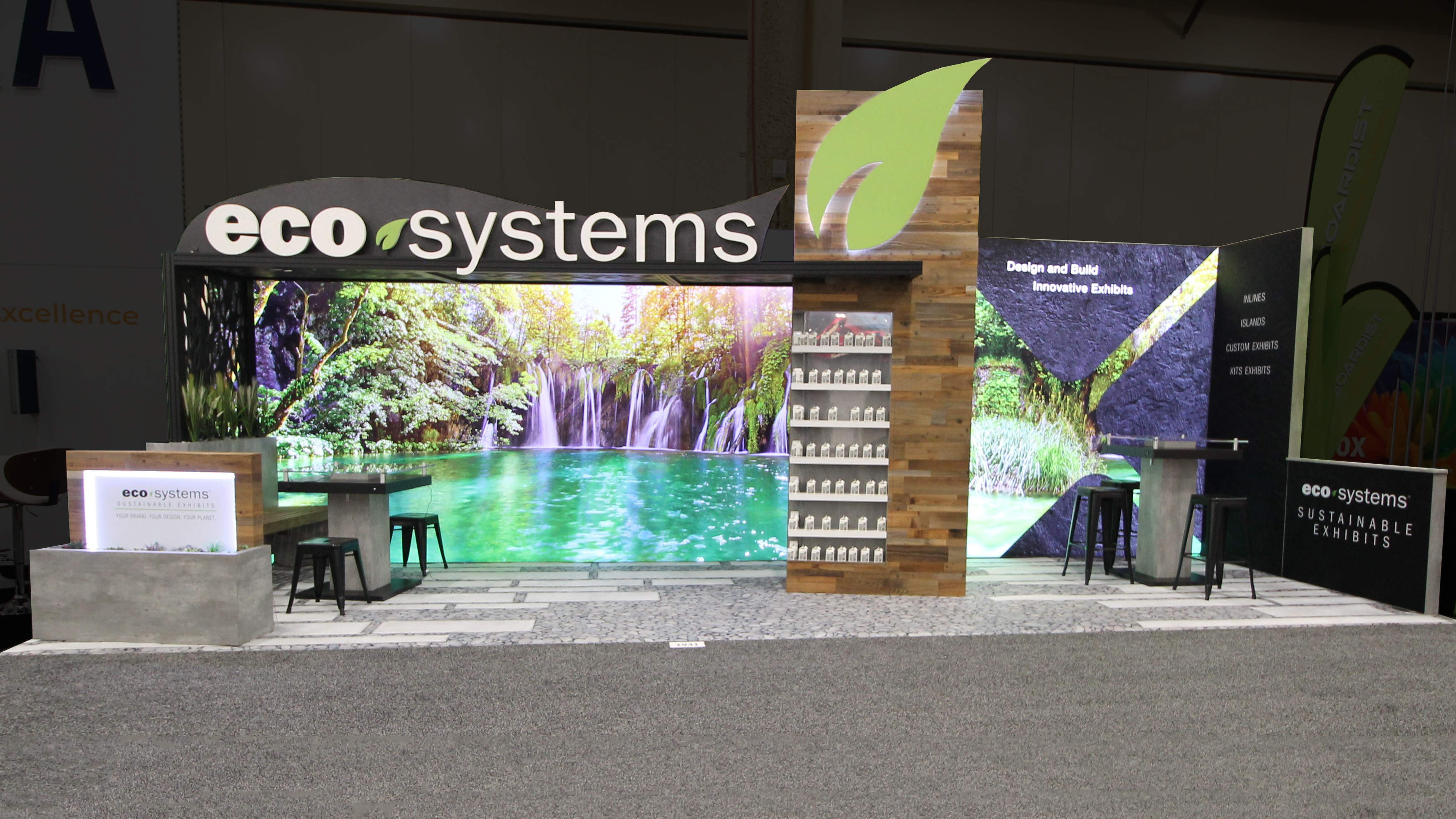 Eco-Systems Sustainable Exhibits from Classic Exhibits