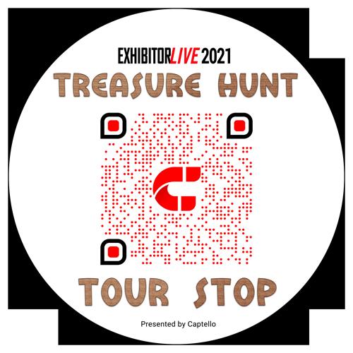 Treasure Hunt at EXHIBITORLIVE 2021